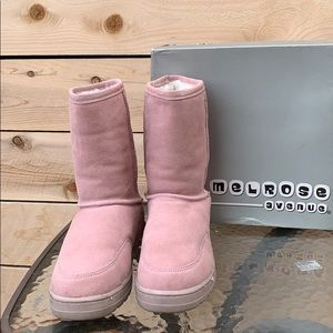 Shoes - Melrose Avenue Pink Booties 💗